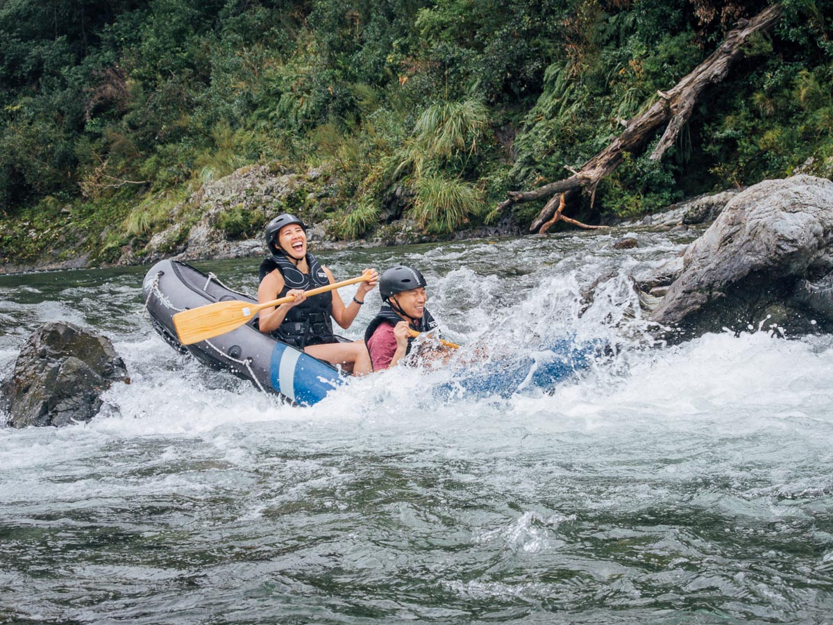 Kayaking Fun at the Pelorus River
