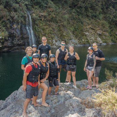Kayaking Group at the Pelorus River