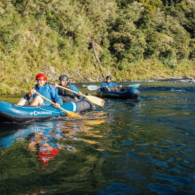 Hobbit Kayak tour in New Zealand