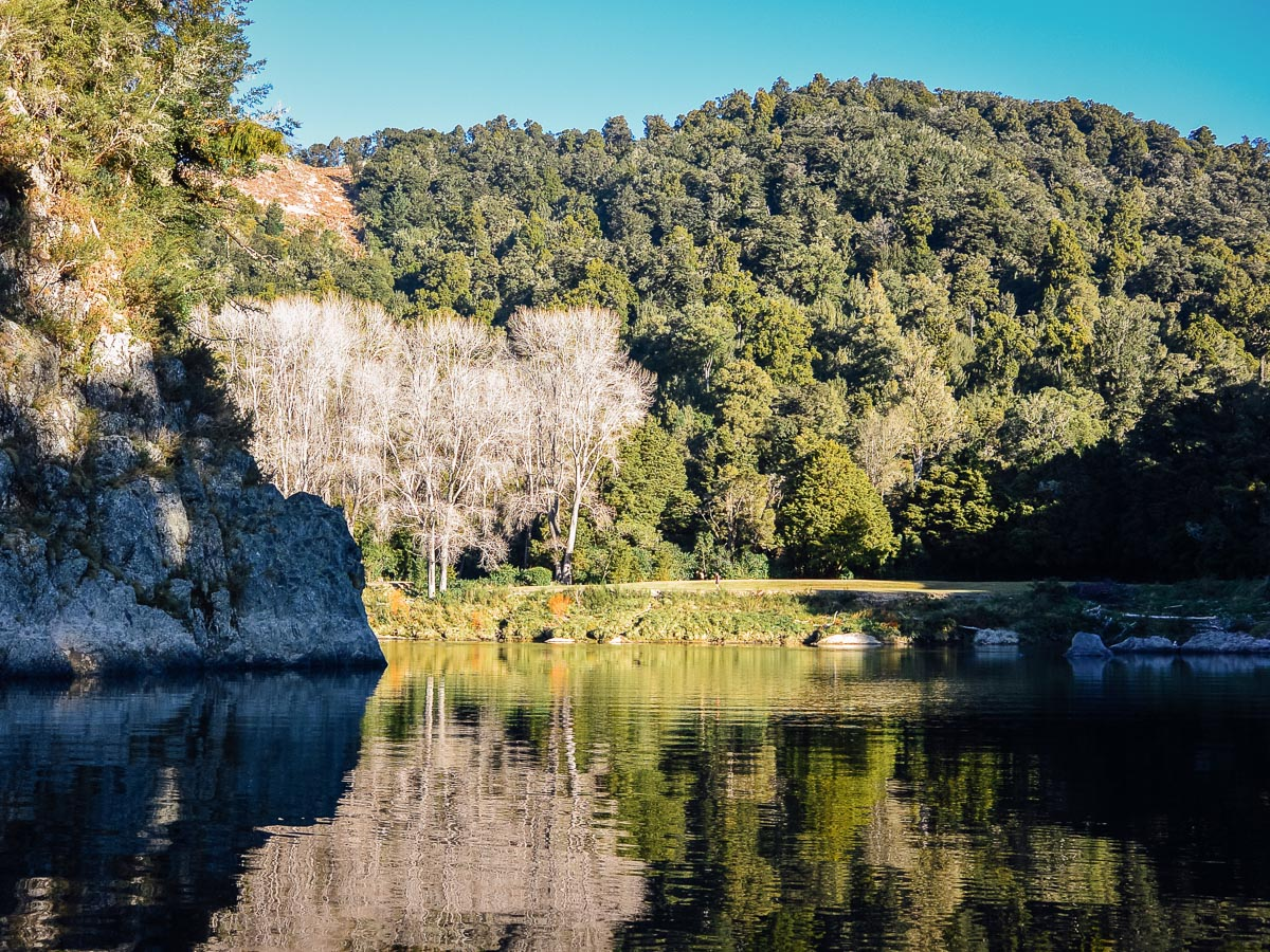 Pelorus river at Havelock, Marlborough NZ