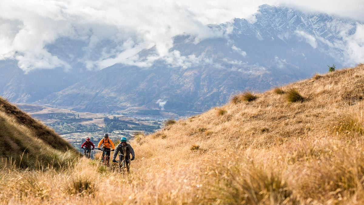 Adventure Tours in New Zealand - Mountain Bike