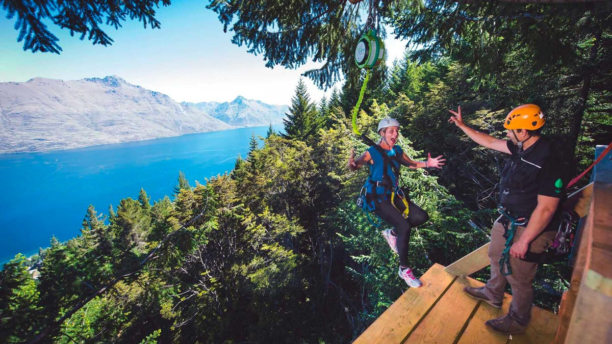 Adventure Tours in New Zealand - Zip Line