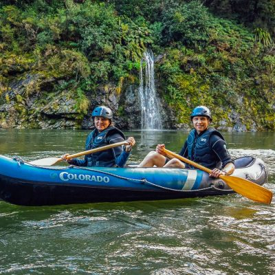 Kayak tour at the Pelorus river