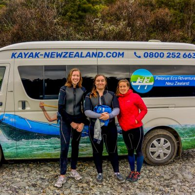 Pelorus Eco Adventures Van