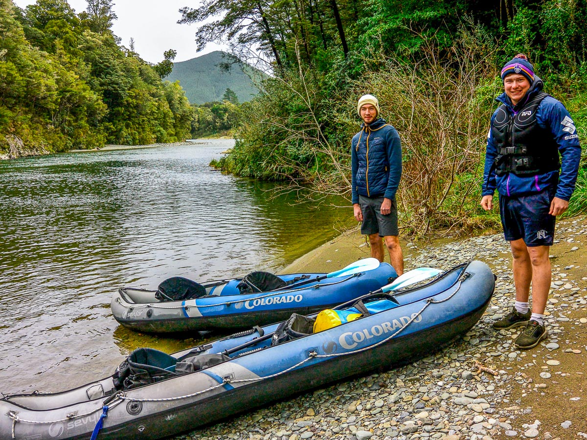 About to Kayak the Pelorus river