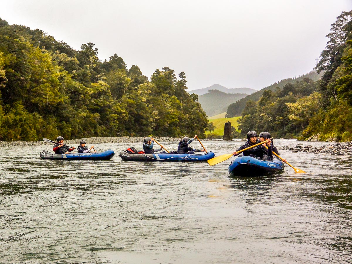 LoTR Kayak Tour in New Zealand