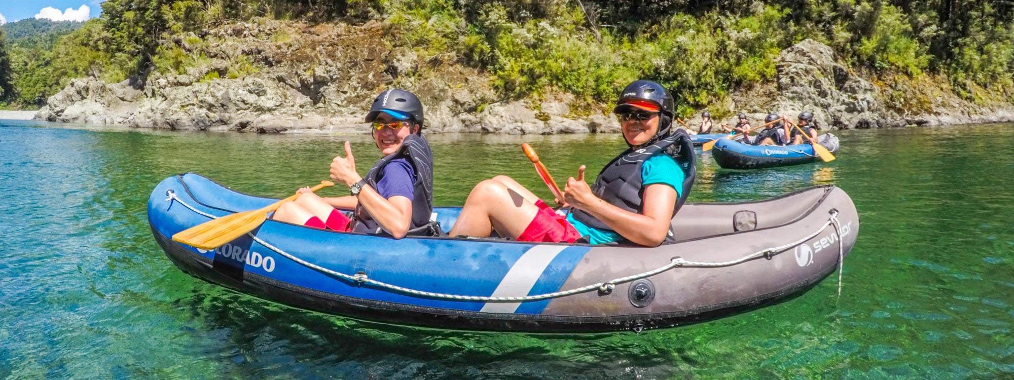 Book Kayak Tour New Zealand Banner