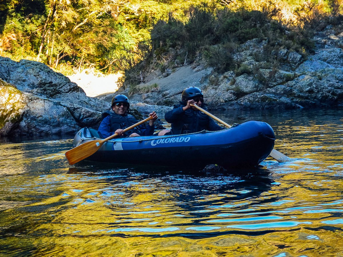 Kayaking Tour at the Pelorus River, NZ
