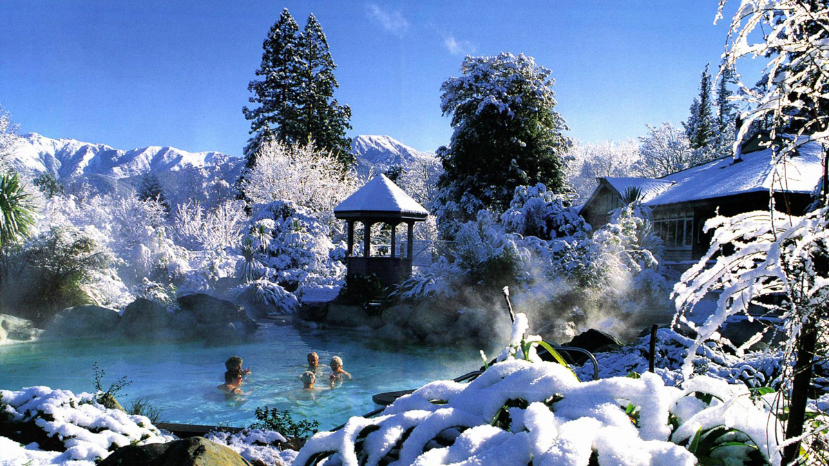 Things to do in New Zealand in Winter Hot Pools