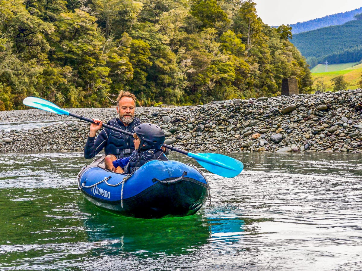 New Zealand Family Kayak tour