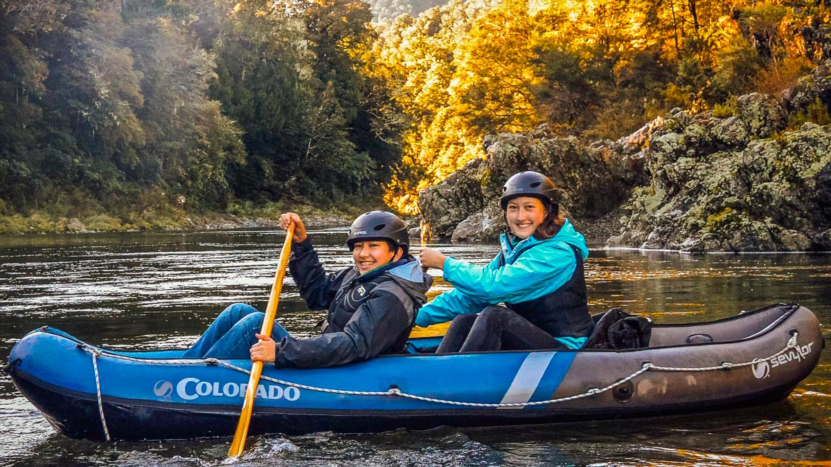 Pelorus River Kayaking in New Zealand
