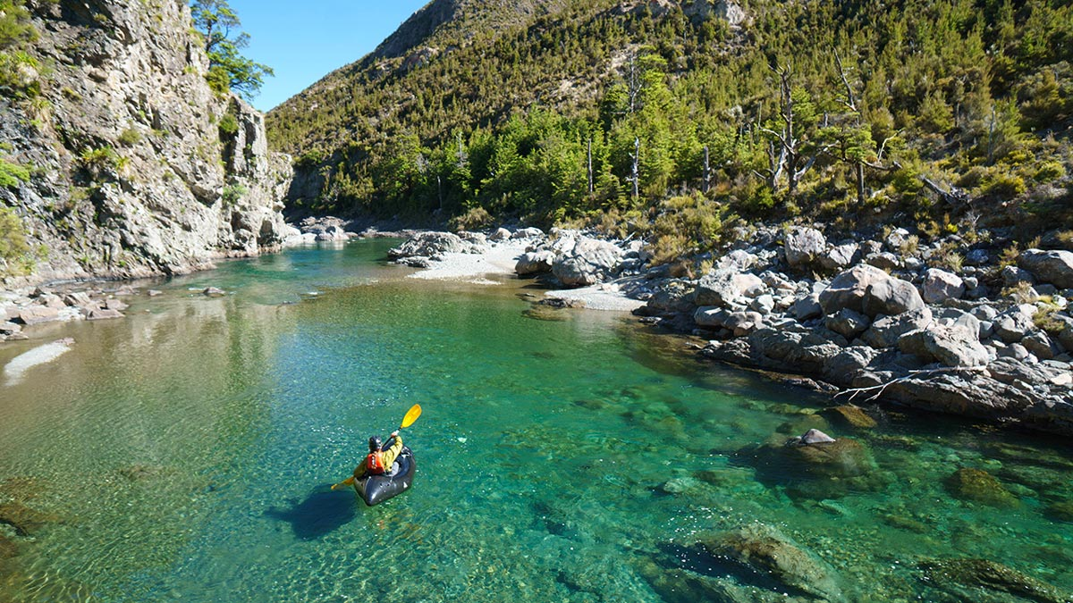 Rangitikei River Kayaking in New Zealand