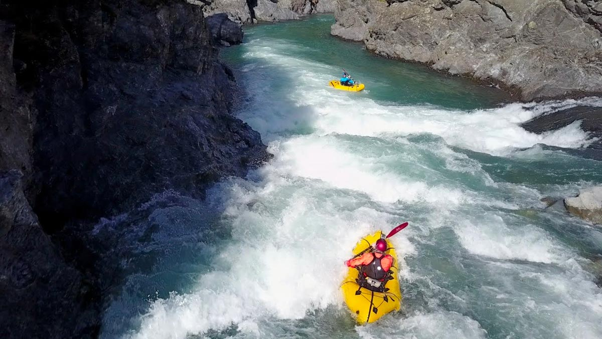 Waiau River Kayaking in New Zealand