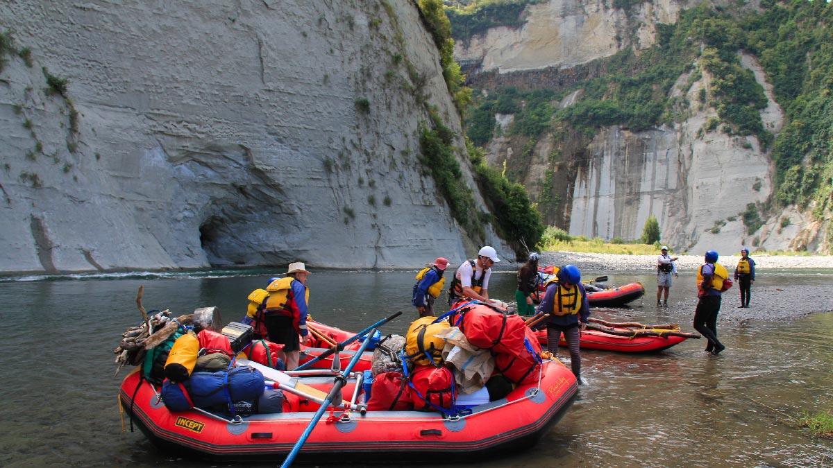 White Water Rafting Rangitikei River