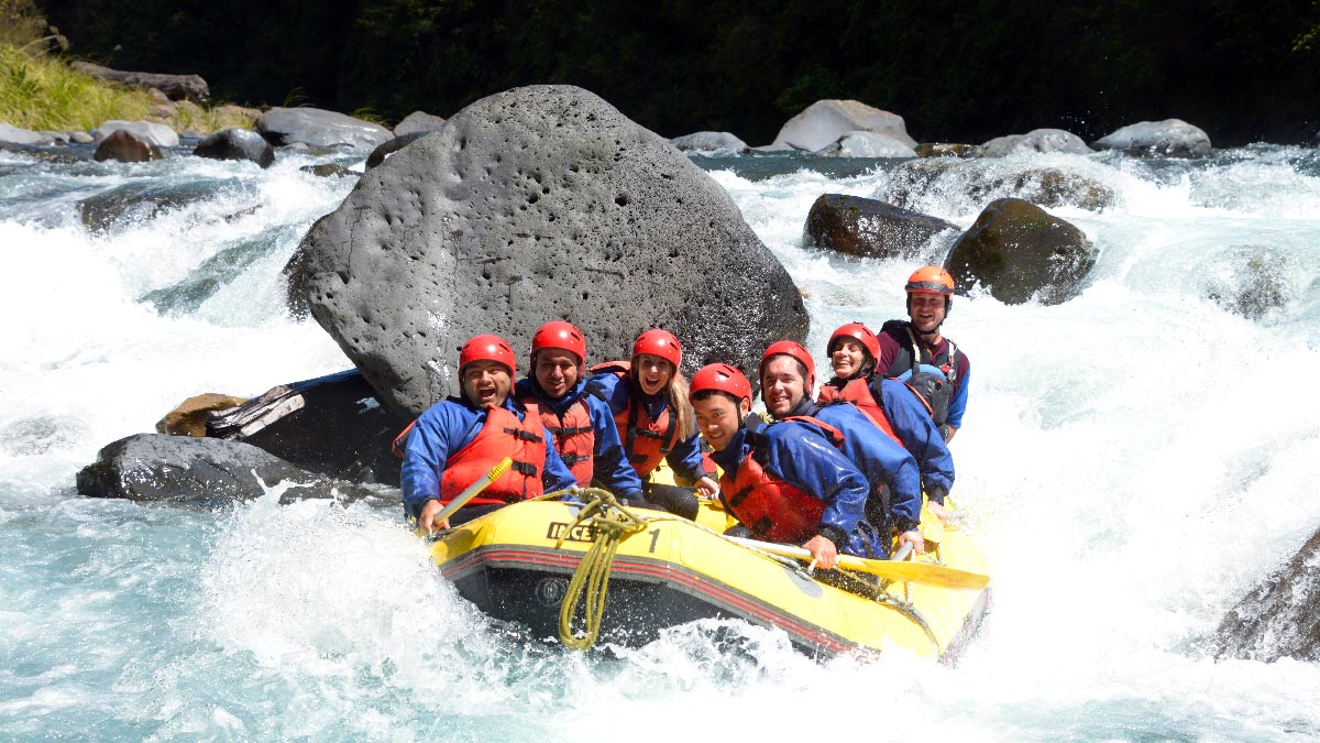 White Water Rafting Tongariro River