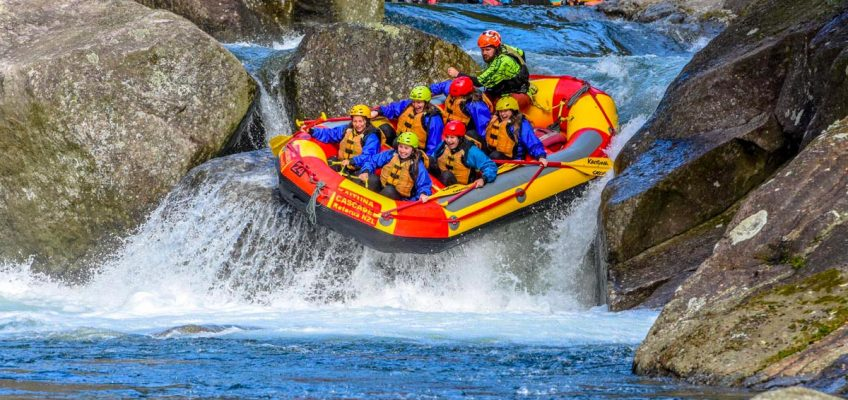 White water rafting and kayaking NZ's North Island