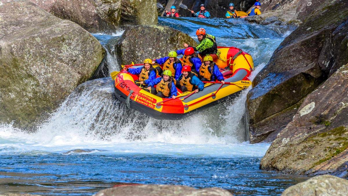 White Water Rafting Wairoa River