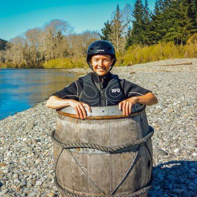 Barrel run picture at the Pelorus river