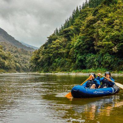Kayak tour in New Zealand