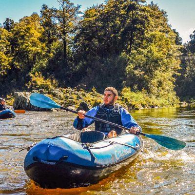 Kayaking tour in NZ
