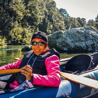 Kayaking the Pelorus river