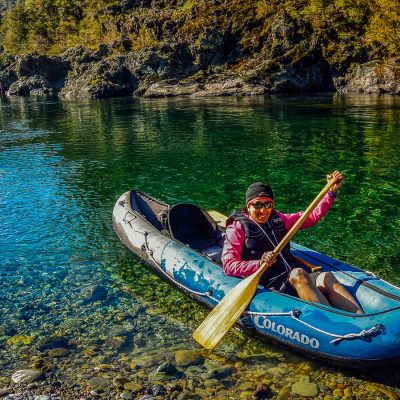 Private kayaking tour in New Zealand