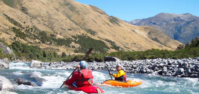 White water rafting & kayaking NZ's South Island