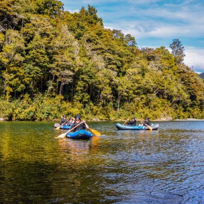 Hobbit kayak tour NZ