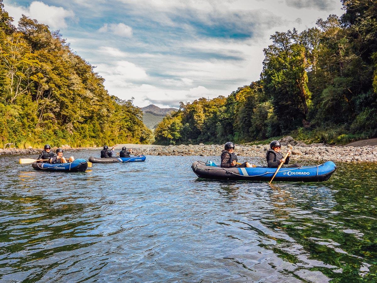 Pelorus river kayaking tour