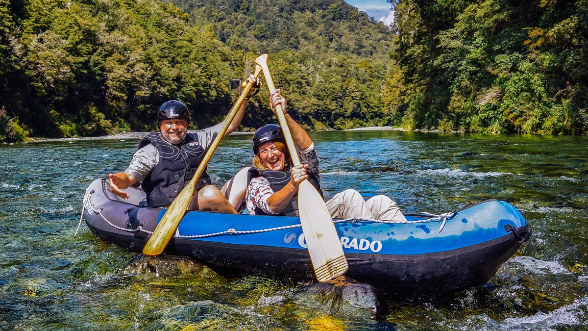 Christmas Kayaking in New Zealand