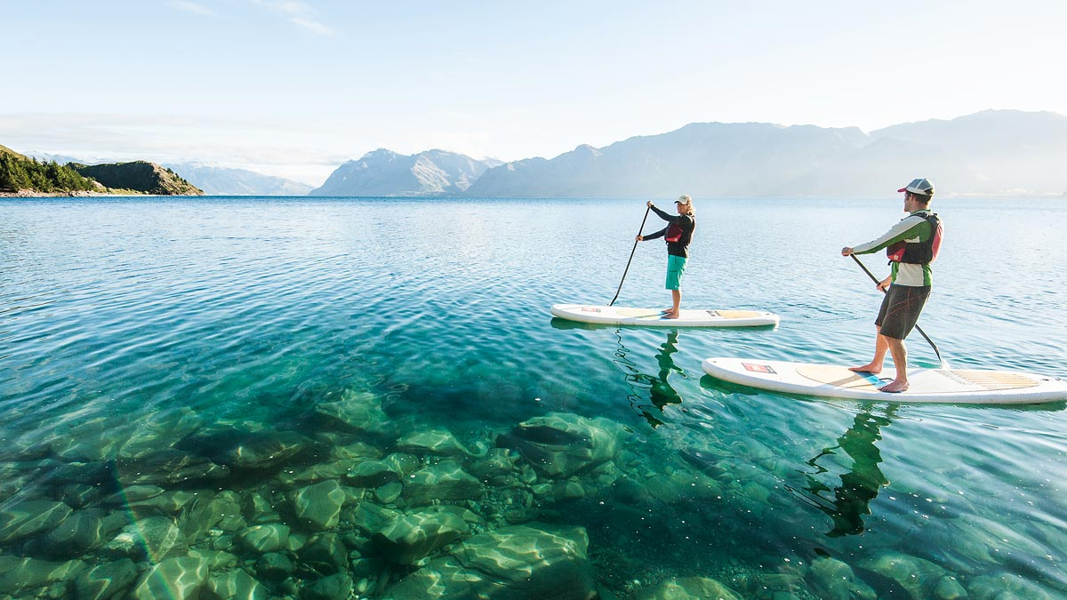 Christmas Paddling in New Zealand