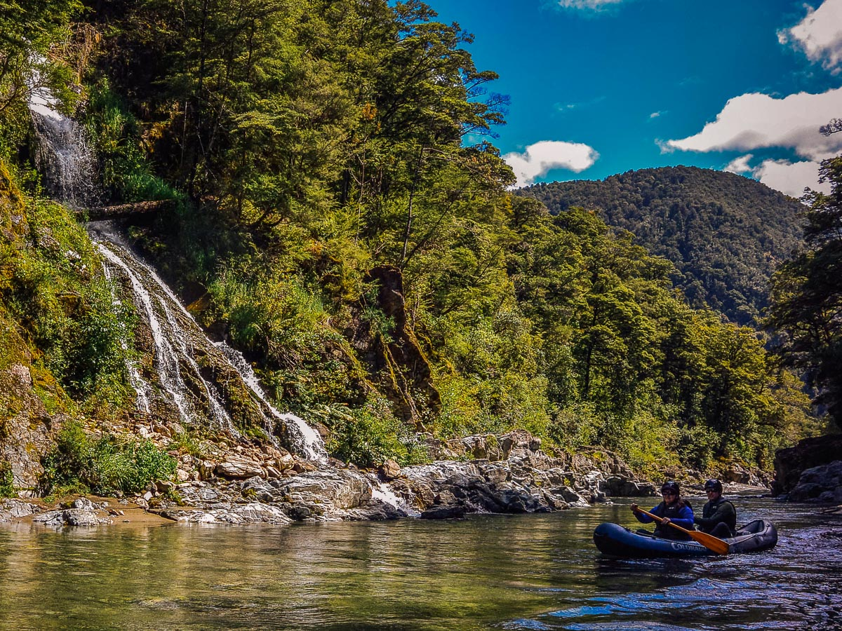 Falls at the Pelorus river