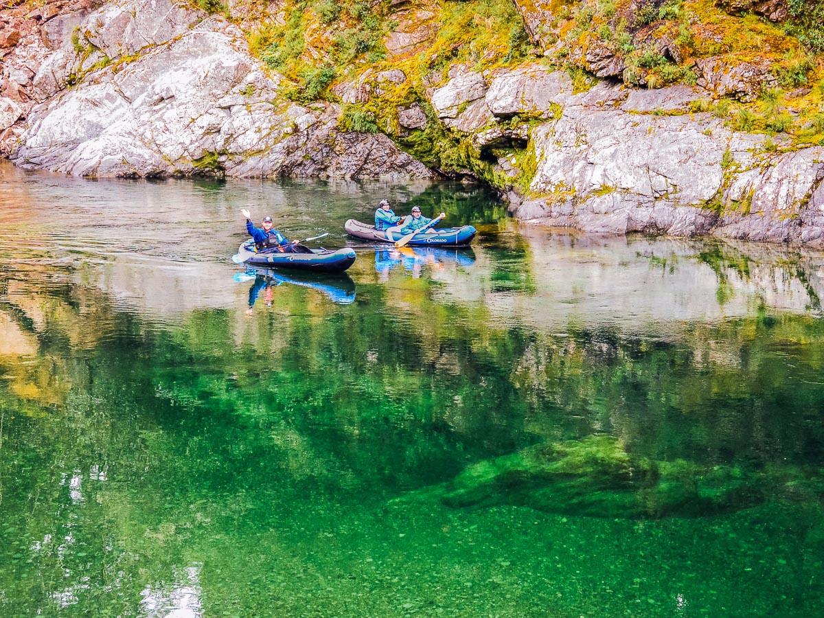 Kayak tour in Marlborough, New Zealand