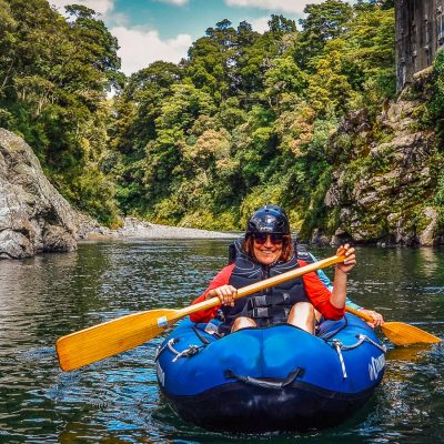 Kayak tour in NZ