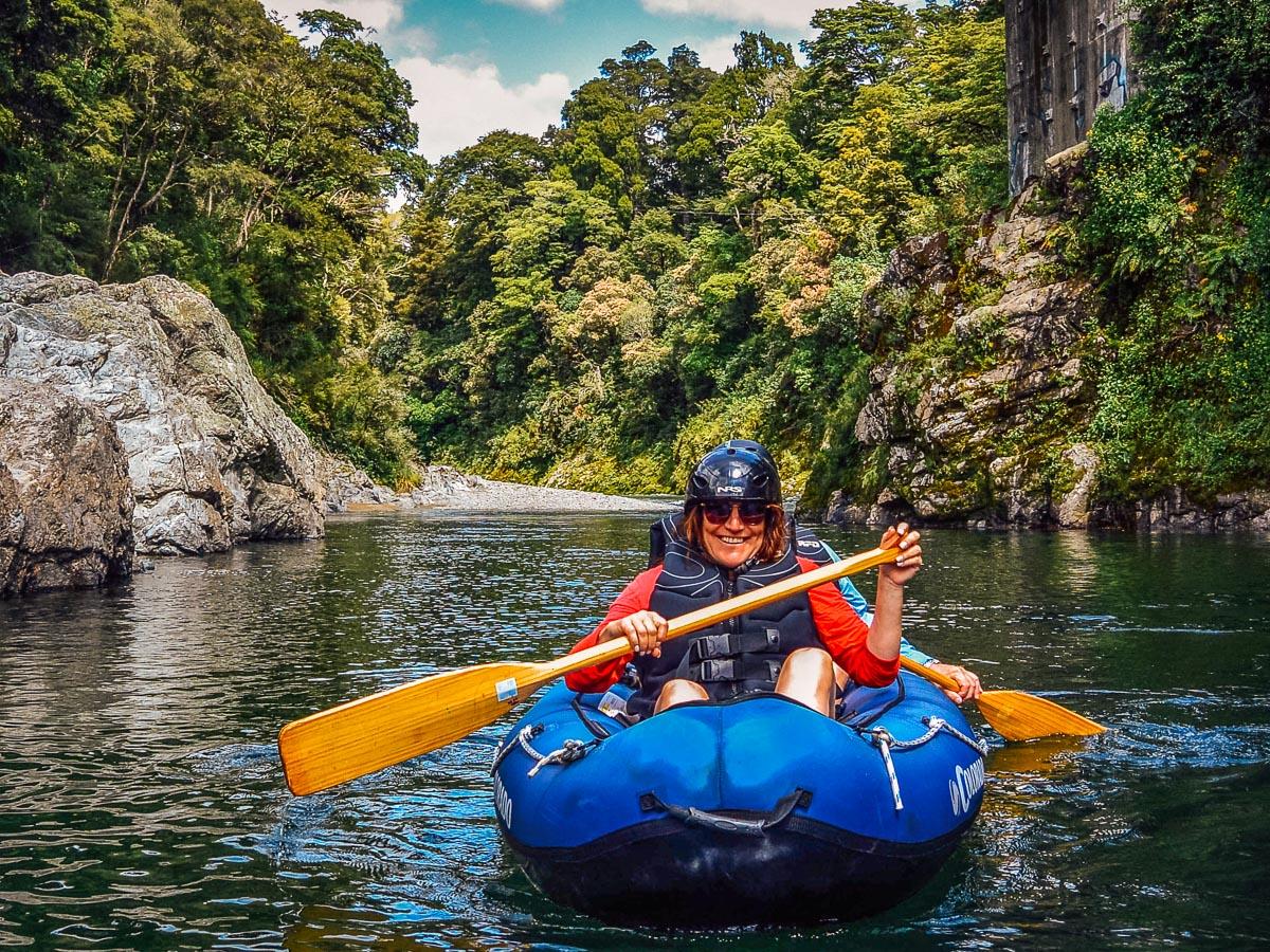 Kayak tour in NZ