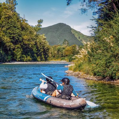Kayaking the Pelorus river