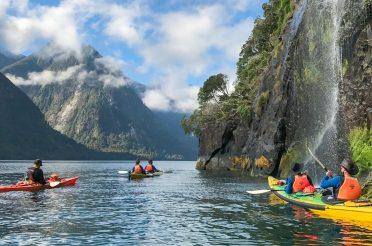 Luxury New Zealand Kayaking Tour Itineraries