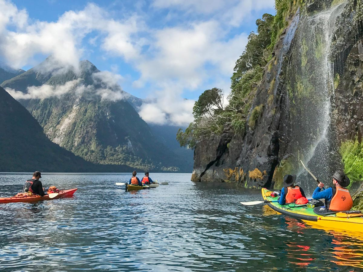 Luxury Kayak Tour New Zealand