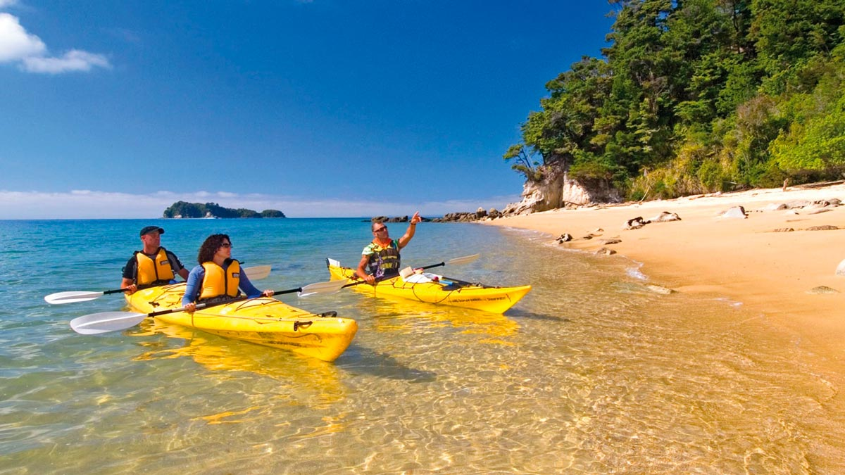 Luxury Kayaking Tour at Abel Tasman