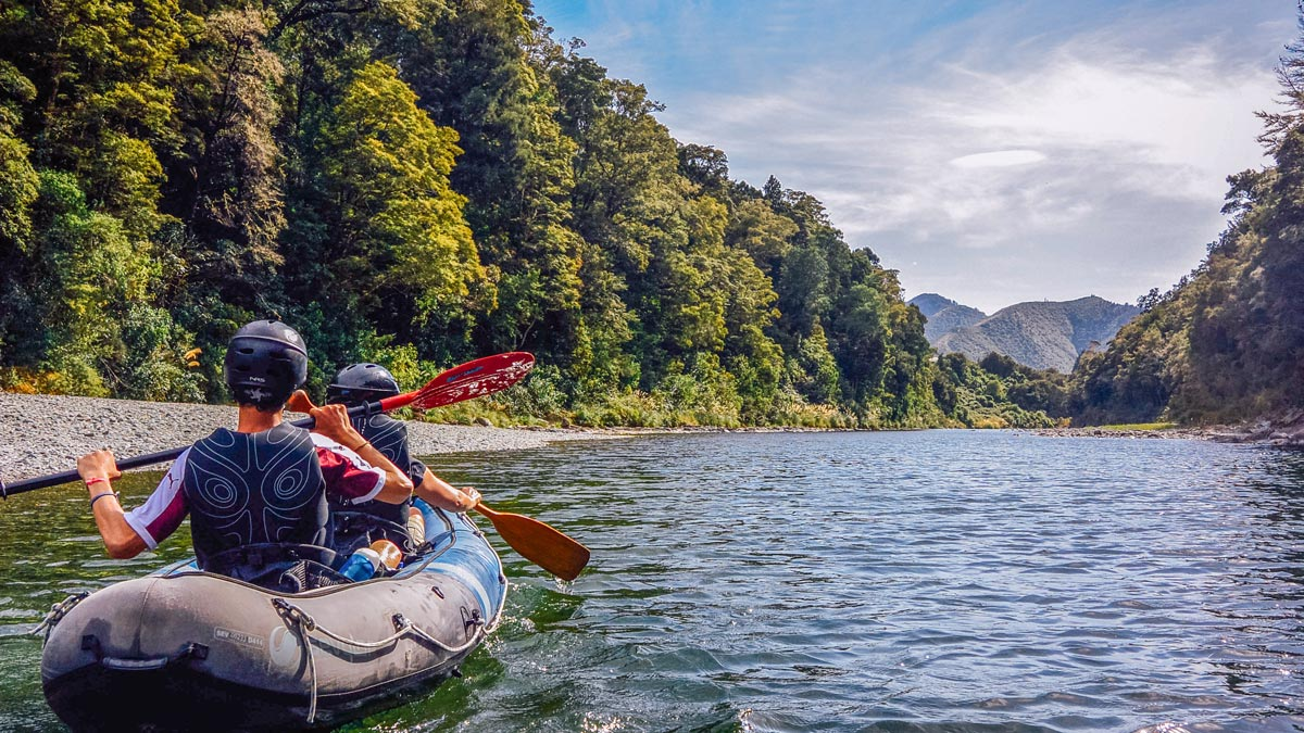 Luxury Kayaking Tour in Marlborough, NZ