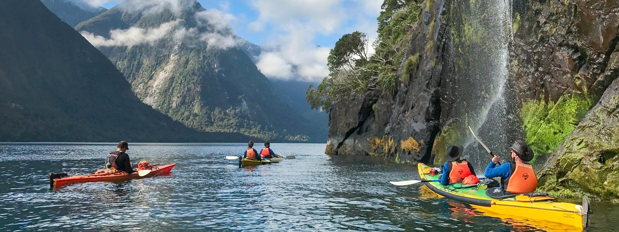 Luxury Kayaking Tour in NZ