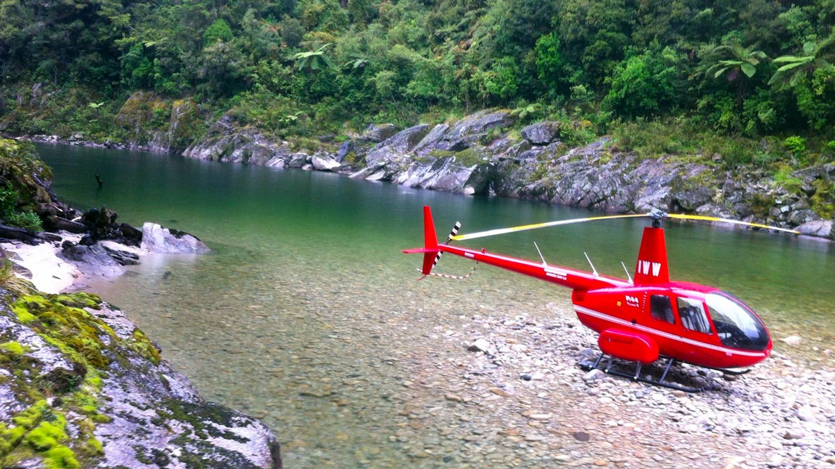 New Zealand Rivers Karamea