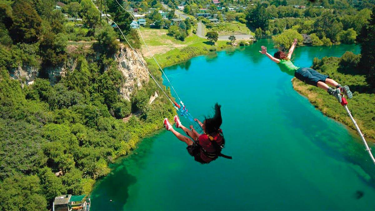 New Zealand Rivers Waikato