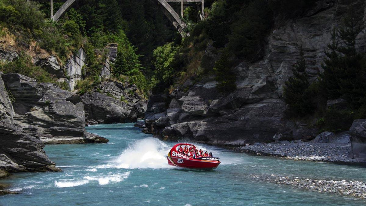 New Zealand Rivers Waiau