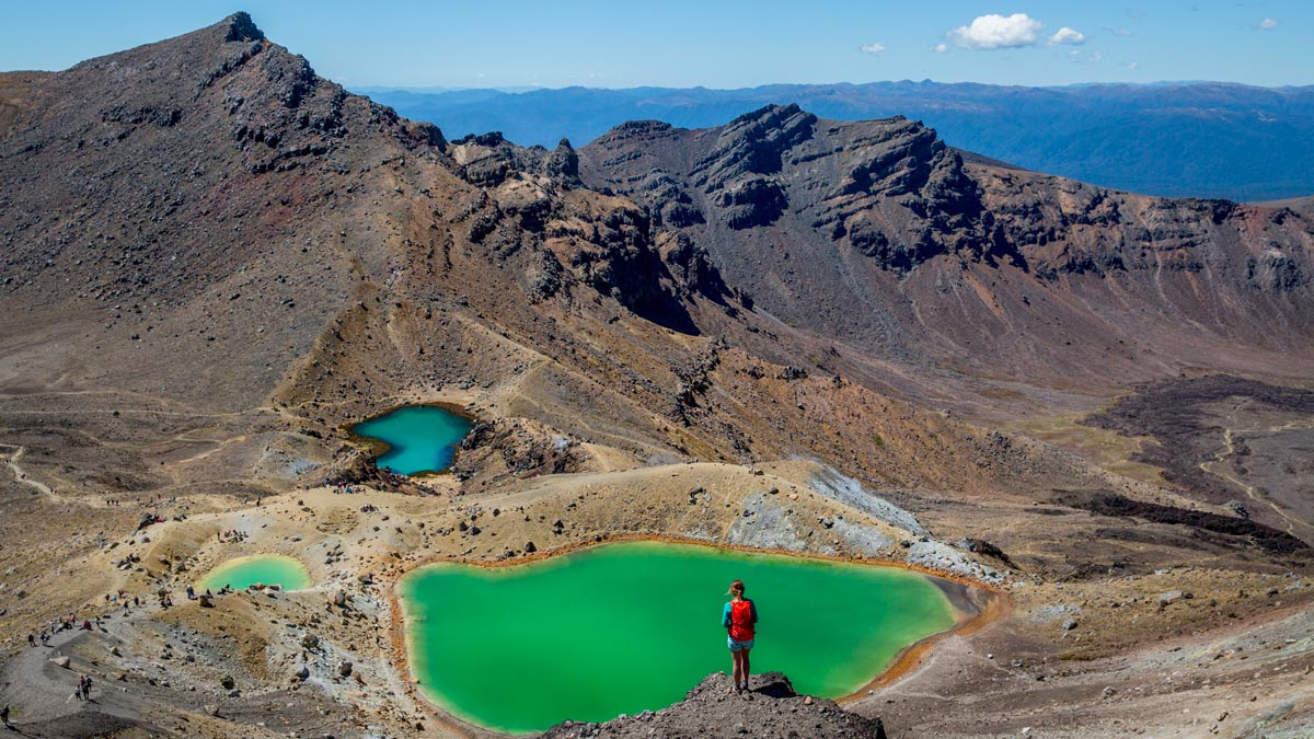 Things to do in New Zealand North Island Tongariro
