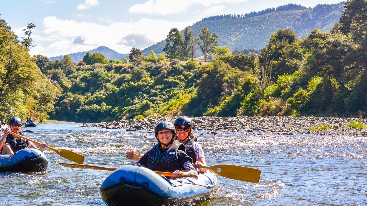 Top things to do in New Zealand South Island Pelorus river