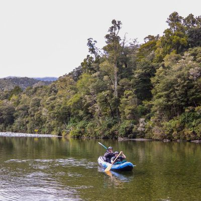 Kayak tour in New Zealand
