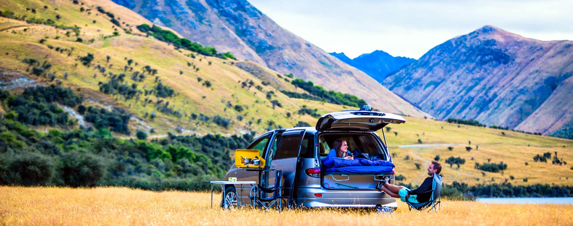 Camping Tour in New Zealand - Header