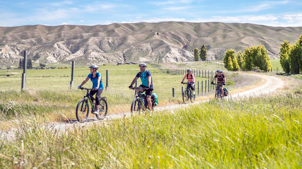 Eco Friendly Activities in New Zealand - Otago Trail