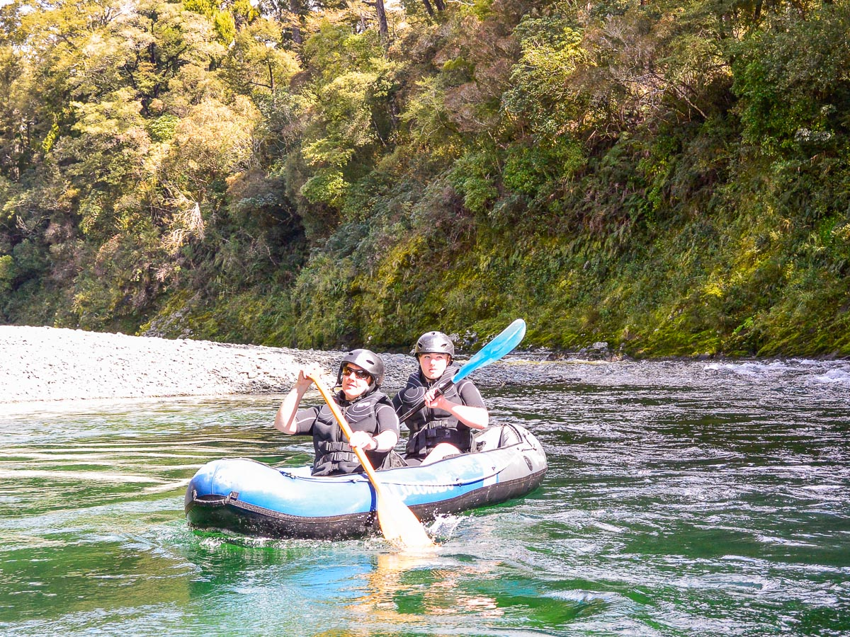 Kayak tour in Havelock, New Zealand